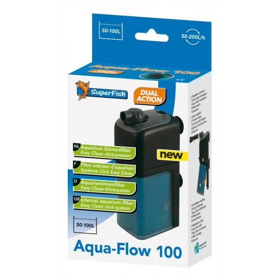 Aquaflow 100 filtre 200 l/h de Superfish - Aquadistri - accessoires pour aquarium et bassin dans Filtre interieur