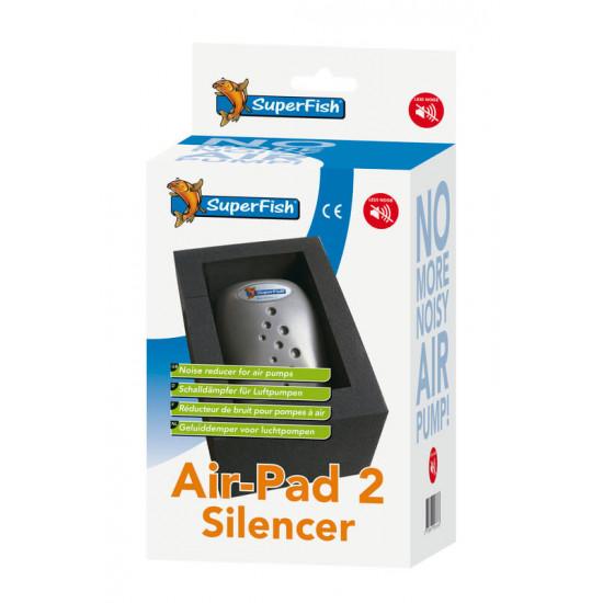 Superfish air pad 2(anti-bruit) de Superfish - Aquadistri - accessoires pour aquarium et bassin dans Pompe à air pour aquariums