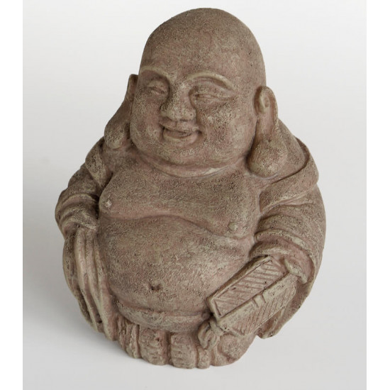 Deco zen laughing buddha