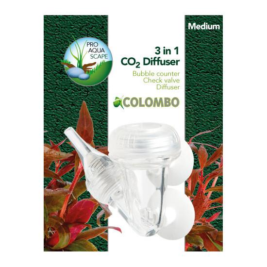 Co2 3-1 diffuseur medium de Colombo - Produit pour aquariums dans Soin des plantes