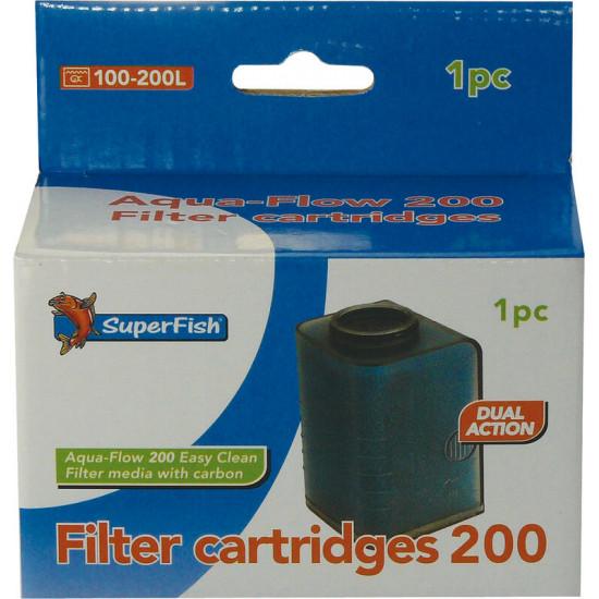 Aquaflow 200 easy click /1 de Superfish - Aquadistri - accessoires pour aquarium et bassin dans Recharge Superfish Aquadistri