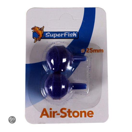 Diffuseur boule 2 pc de Superfish - Aquadistri - accessoires pour aquarium et bassin dans Pompe à air pour aquariums