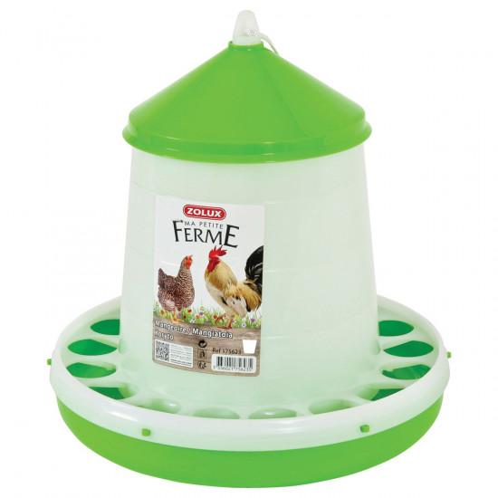 Mangeoire silo 8kg de Zolux - Produit pour animaux dans Mangeoires