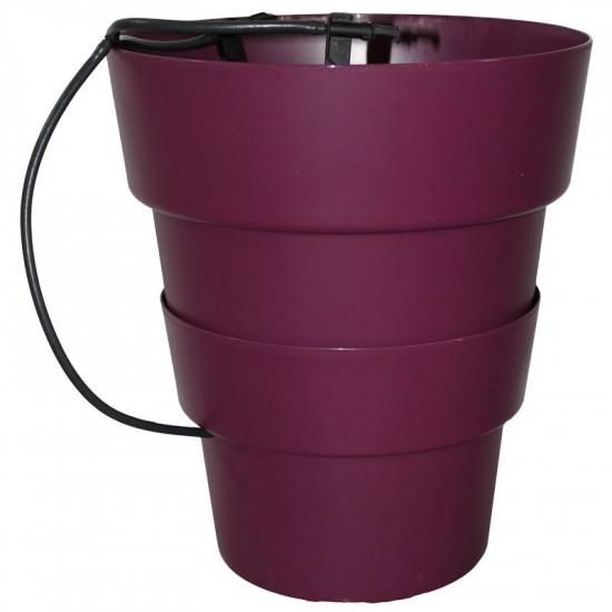 Pot hydroponie hydro+ violet de Hydroponics+ - pots pour hydroponie dans Hydroponie