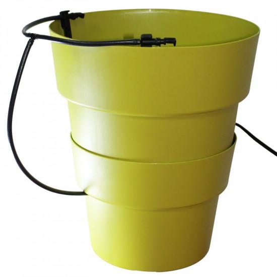 Pot hydroponie hydro+ vert de Hydroponics+ - pots pour hydroponie dans Hydroponie
