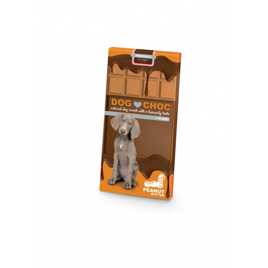Dog choc peanut 100 gr