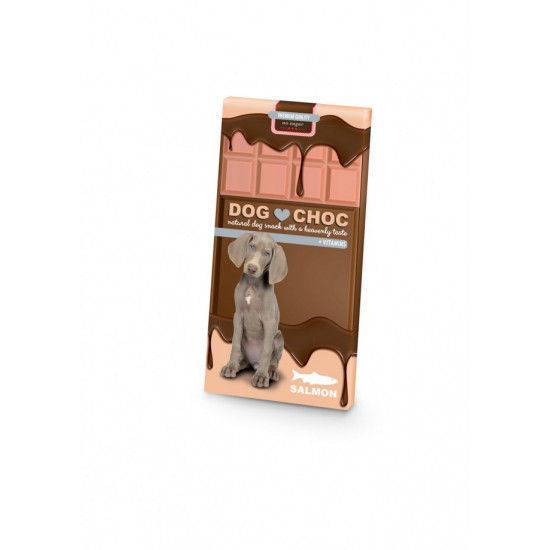 Dog choc salmon 100 gr