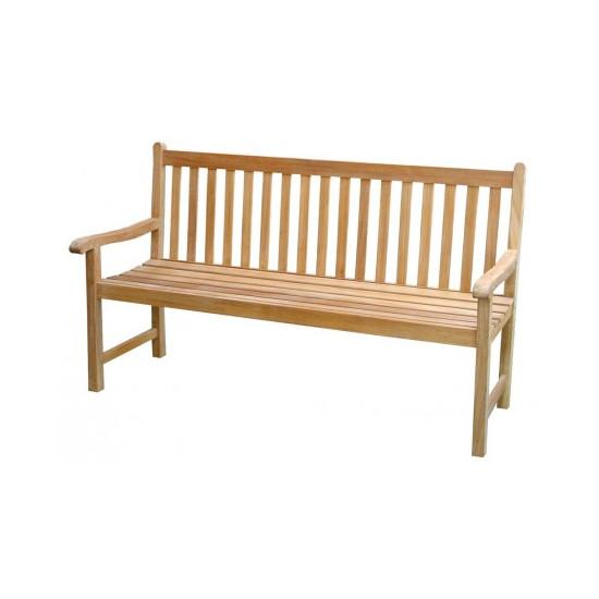 Banc alize en teck 150cm de Proloisirs - Océo - table et fauteuil e...