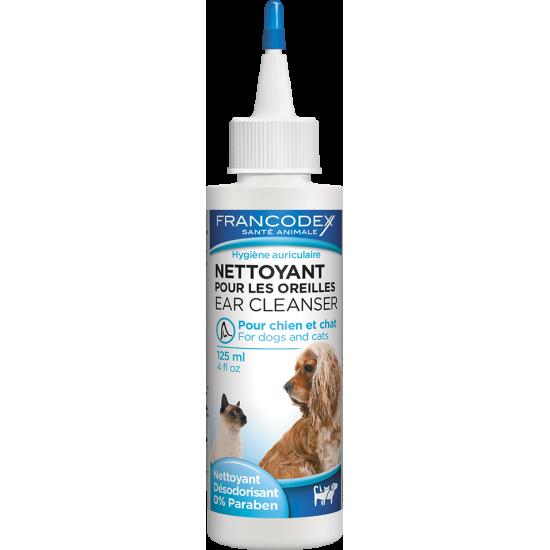 Nettoyant oreilles 125ml de Francodex - anti puce et soin pour chien et chat dans Soins et Hygiene pour chiens