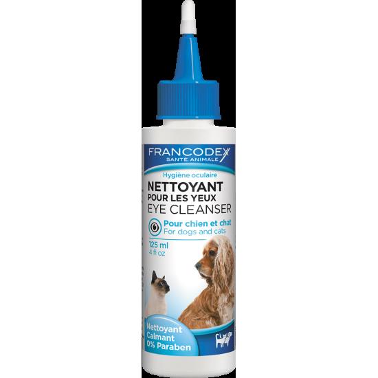 Nettoyant pour les yeux 125ml de Francodex - anti puce et soin pour chien et chat dans Soins et Hygiene pour chiens