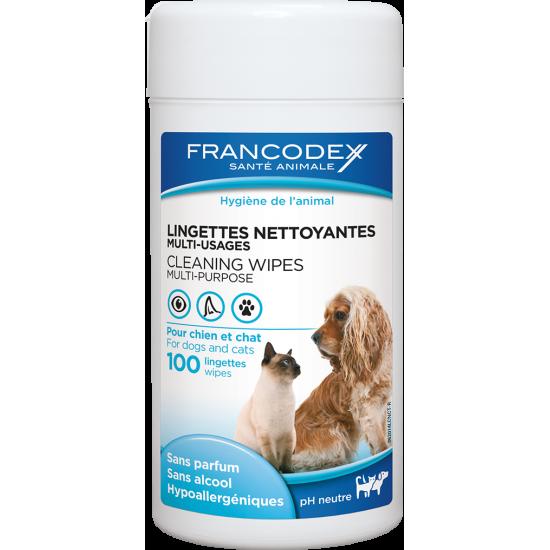 Lingettes nettoyantes /100