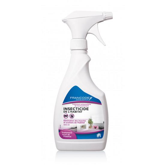 Insecticide habitat 500ml de Francodex - anti puce et soin pour chien et chat dans Puces et tiques pour chiens