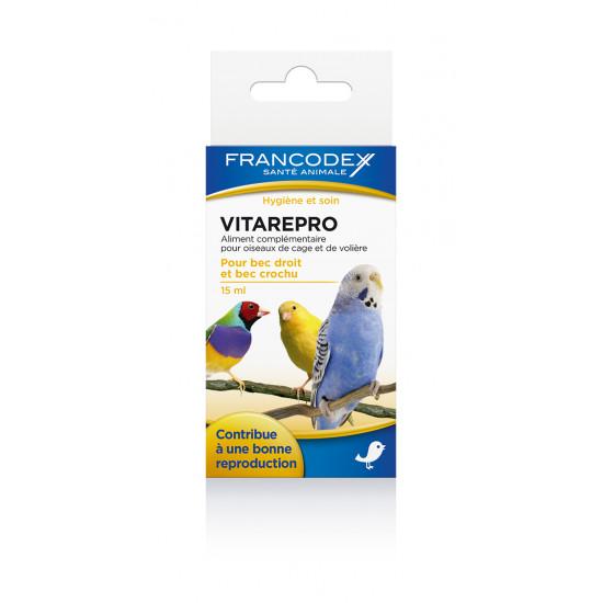 Vitarepro 15ml de Francodex - anti puce et soin pour chien et chat dans Soin des oiseaux