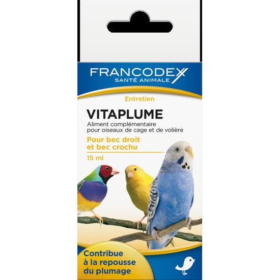 Vitaplume 15ml de Francodex - anti puce et soin pour chien et chat dans Soin des oiseaux