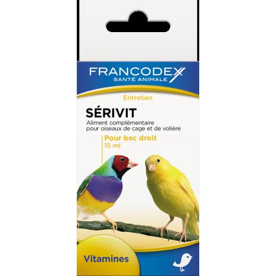 Serivit 15ml de Francodex - anti puce et soin pour chien et chat dans Soin des oiseaux
