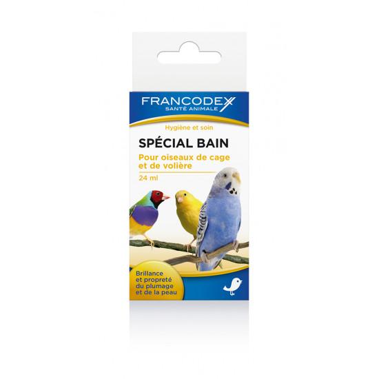 Special bain 24ml de Francodex - anti puce et soin pour chien et chat dans Soin des oiseaux