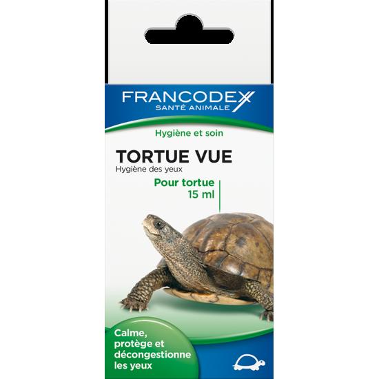 Tortue vue 15ml de Francodex - anti puce et soin pour chien et chat dans Soin pour reptiles