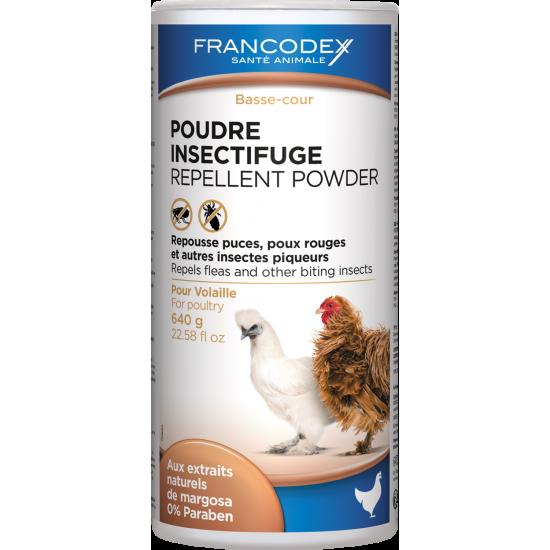 Poudre insectifuge volaille de Francodex - anti puce et soin pour chien et chat dans Produits d'entretien
