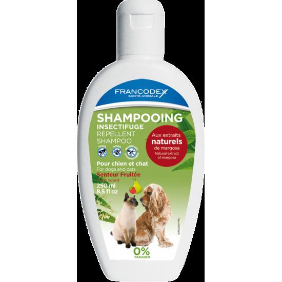 Shampooing insect fruite 250ml de Francodex - anti puce et soin pour chien et chat dans Puces et tiques pour chiens