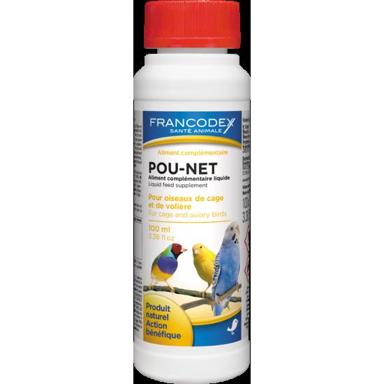 Pou net oiseaux 100ml frx de Francodex - anti puce et soin pour chien et chat dans Soin des oiseaux