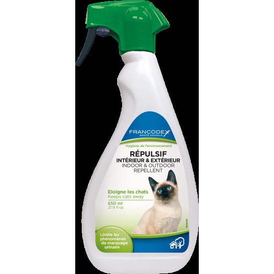 Repulsif chat 650ml de Francodex - anti puce et soin pour chien et chat dans Hygiene pour chats