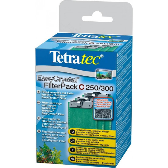 Tetra filterpack charbon 250/3
